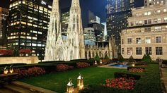 Rockefeller Center din New York.