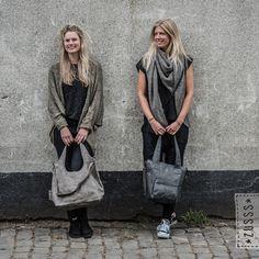 Zusss l Luxe schoudertas antracietgrijs l http://www.zusss.nl/product/luxe-schoudertas-antracietgrijs/