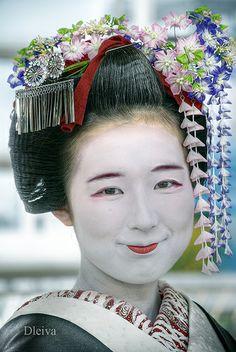 Maiko Chikayukien (Kyoto, Japan)