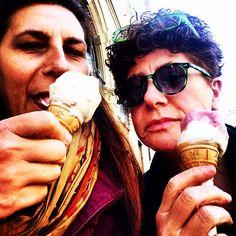 Torino, un gelato con Romana - 28 aprile
