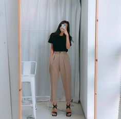 Casual Fall Outfits That Will Make You Look Cool – Fashion, Home decorating Spring Outfit Women, Spring Summer Fashion, Spring Style, Winter Fashion, Outfits Casual, Mode Outfits, Fashionable Outfits, Casual Wear, Dress Outfits