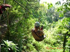 zipline in Jamaica