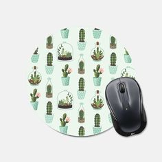 Dont know about you - but I love fun mousepads to brighten up my workspace!  This mousepad is 8 inches wide, features a stain resistant polyester fabric top, and a rubber non stick back.  Every mousepad is handmade in my studio with care and attention to detail.  To see more mint items from my shop visit this link (mousepads, phone cases, prints): https://www.etsy.com/shop/fieldtrip?section_id=12404108&ref=shopsection_leftnav_6