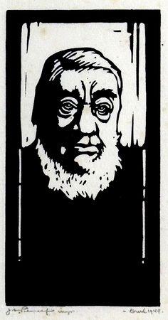 Pierneef - Portrait of Paul Kruger