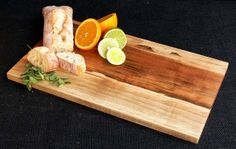 Spelted Maple Wood Cutting Board Cheese Bread Serving by OSOhome, $38.00
