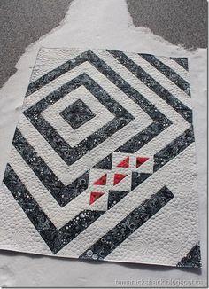 Batik Quilts, Lap Quilts, Small Quilts, Mini Quilts, Quilts For Men Patterns, Quilt Block Patterns, Half Square Triangle Quilts, Square Quilt, Contemporary Quilts