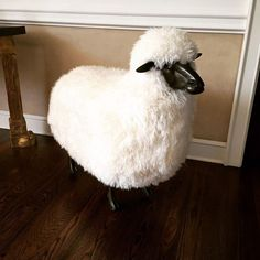 Sheep stool, François-Xavier LalanneA pair of these little guys once sold at auction for over half a million dollars; a flock of them overtook NYC's Getty Station for a site-specific installation in 2013. Just one is all it would take to get a really cute 'gram of your Céline bag.