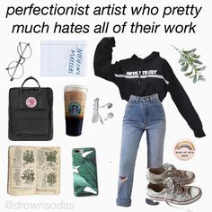 thank you for featuring our case and hoodie in a post! thank you for featuring our case and hoodie in a post! Art Hoe Aesthetic, Aesthetic Memes, Aesthetic Fashion, Look Fashion, Aesthetic Clothes, Grunge Outfits, Girl Outfits, Cute Outfits, Fashion Outfits