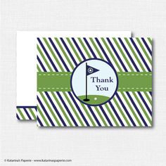 golf thank you thank you card masculine cards pinterest golf