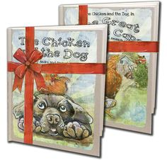 Need an Easter gift? Check out these Chicken and the Dog gift sets! $30