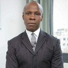 Heading to the jungle ... boxing legend Chris Eubank