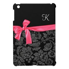 Elegant Faux Glitter Damask Girly Hot Pink Bow iPad Mini Case Yes I can say you are on right site we just collected best shopping store that haveThis Deals          Elegant Faux Glitter Damask Girly Hot Pink Bow iPad Mini Case Review on the This website by click the button below...