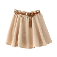 Casual Ruching Candy Color Women's 2013 Spring Skirt (With Belt) ($11) ❤ liked on Polyvore featuring skirts, mini skirts, bottoms, faldas, saias, beige mini skirt, ruched skirt, gathered skirt, ruched mini skirt and beige skirt