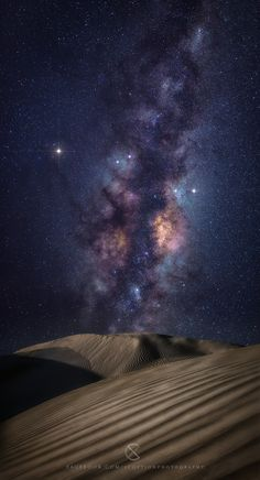 Milky Way (Signs - Scott McCook Photography) sand dunes located North of Perth in Cervantes Beautiful Sky, Beautiful World, Beautiful Places, Cosmos, To Infinity And Beyond, Out Of This World, Milky Way, Science And Nature, Night Skies