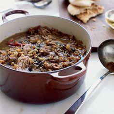 This sweet and tangy Middle Eastern stew, with falling-apart-tender lamb, is one of wordsmith and perfect host Jesse Sheidlower's favorites. He found ...
