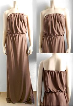 Runway Sewing: PROJECT #17: STRAPLESS MAXI, love