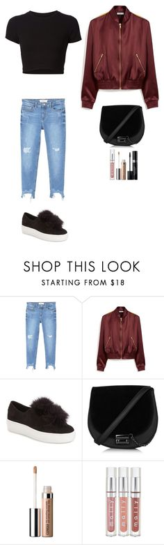 """""""Style #272"""" by maksimchuk-vika ❤ liked on Polyvore featuring Getting Back To Square One, MANGO, Mulberry, Steve Madden, Clinique and Christian Dior"""