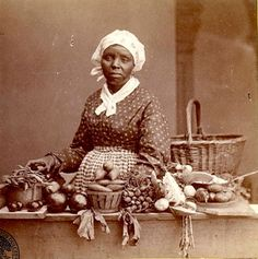 Historic photo of African American woman