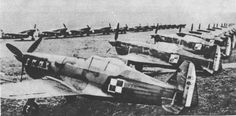 French MS.406 fighters assigned to the Polish Montpellier Group in France, Mar 1940