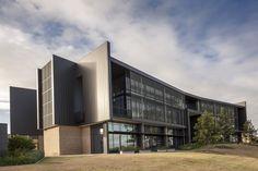 AUSTRALIAN CATHOLIC UNIVERSITY INTERLOCKING CASSETTE PANELS ALUMINIUM Catholic University, Learn Art, Cladding, Mansions, House Styles, Design, Mansion Houses, Villas
