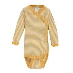 Langermet omslagsbody, ull/silke: Body i omslagsmodell med trykknapper. 70% merinoull, 30% silke. fra Nøstebarn. Baby Barn, Eco Baby, Baby Girl Fashion, Spring Outfits, Toddler Girl, Men Sweater, Darwin, Stylish, Sweaters