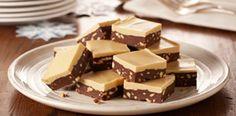 fudge chocolat et beurre de cacahuète