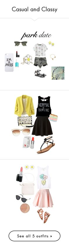 """""""Casual and Classy"""" by aranzasc1 on Polyvore"""