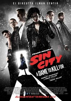 Sin City - A Dame to Kill For DVD (tulossa)