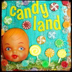 Candy Land  Fine-Art Print  8x8 by stoopidgerl on Etsy, $25.00