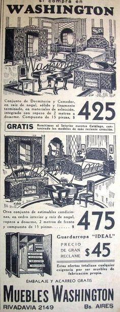 Washington Muebles 1935
