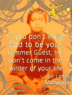 He won't come when you really need Him, unless you start making time for God.starting right now. Awakening Quotes, Spiritual Awakening, Spiritual Quotes, Yogananda Quotes, Autobiography Of A Yogi, Karma, Quote Tshirts, Knowledge And Wisdom, Mindset Quotes