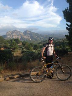 Cycling near Tartosa (southern Catalonia)
