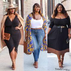 Top 10 Looks of 2016 | Plus Size Fashion | TrendyCurvy