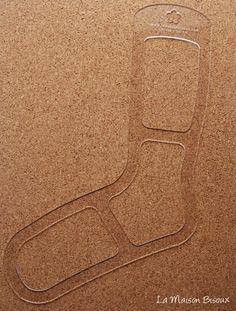 Bloqueador de calcetines / Sock Blockers / Support pour bloquer les Chaussettes http://lamaisonbisoux.bigcartel.com/product/bloqueador-de-calcetines-sock-blockers-support-pour-bloquer-les-chaussettes