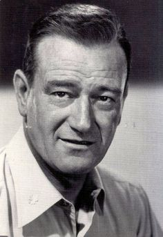 Movie Star:  John Wayne...actor of war movies and westerns.