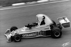 Jacques Laffite in the Ligier JS5, in 1976