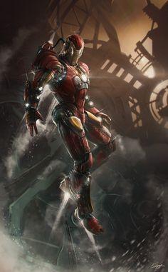 ArtStation - Steampunk Ironman _ Kailyze, Thibault Girard