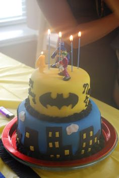 Our sweet Noah turned four on July 7th. When I asked him what he wanted for his birthday, he said he wanted a Batman cake. Easy enough! Afte...