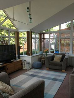 Beautiful thermal conservatory