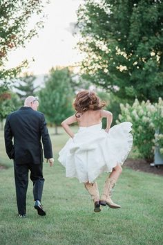 Jump for joy — it's your wedding day!