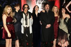 GREEN SCREEN: New Tim Burton film (shock horror Johnny Depp and Helena Boham Carter are starring in