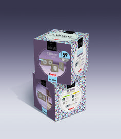 Le Cube Céliane Legrand par Graphik Studio #celiane #legrand #cube http://graphik-studio.com/work/