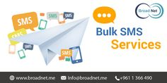 We are the premier #Bulk #SMS Services Provider offering A-one bulk SMS services at most reasonable price rates. Being very large in the telecommunication services, we give you the word for the 100% upfront delivery of messages.