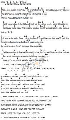 Guns roses patients lyrics