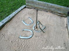 Happy Memorial Day! Hope you're enjoying the long weekend and planning something fun. I've been working on a few things around the house, and one of those is re-working the horseshoe pits in the backyard. While these horseshoe pits were built in my pre-blogging days ;) I can still show you how to build some of your own. Plus you get to see how well they have held up after two years! [Please click here to continue reading...]