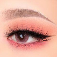 Edgy Makeup, Eye Makeup Art, Cute Makeup, Pretty Makeup, Eyeshadow Makeup, Makeup Looks, Korean Eye Makeup, Korea Makeup, Asian Makeup