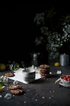 A history of Roots   Strawberry oatmeal vegan cookies - The Freaky Table by Zaira Zarotti