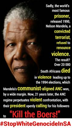 ONE SPEECH NO MORE THAN 30 MINUTES THAT CHANGED THE HISTORY, AND THE FUTURE, OF SOUTH AFRICA FOR EVER  White Genocide in South Africa #StopWhiteGenocideInSA
