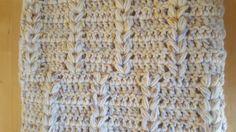 Handmade crochet unisex baby blanket 30 x 40 by BiziKnitting4You
