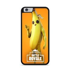 Fortnite Character Series Peely iPhone 6 Plus Iphone 6, 6s Plus Case, Plastic Material, Phone Case, Character, Phone Cases, Lettering, Phone Covers